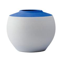 圓滿富貴 花器(藍)