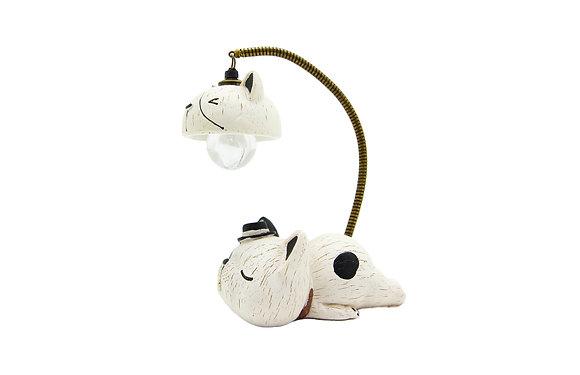 白貓小夜燈