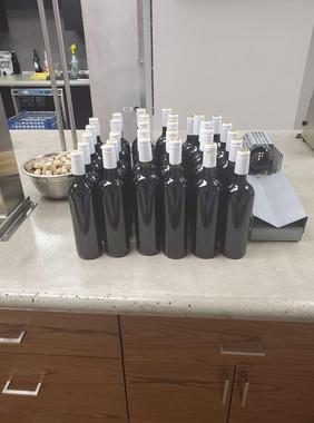30 bottle batch of red wine