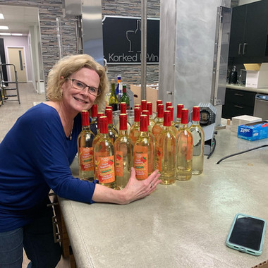 Customer with 30 bottle batch completed.