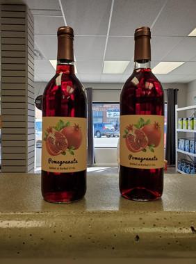 Fruit wine bottles