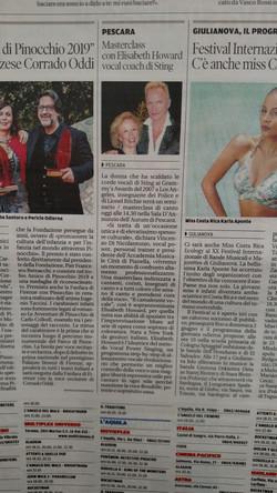 Article ft Elisabeth and Pescara
