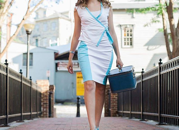 Curvy Fit Pencil Skirt