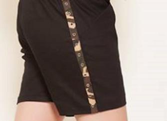 Cammo banded Shorts