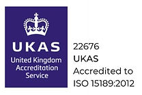 22676 UKAS Accredited to ISO 151892012_e