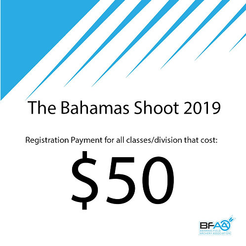 $50 Registration Product Bahamas Shoot 2019