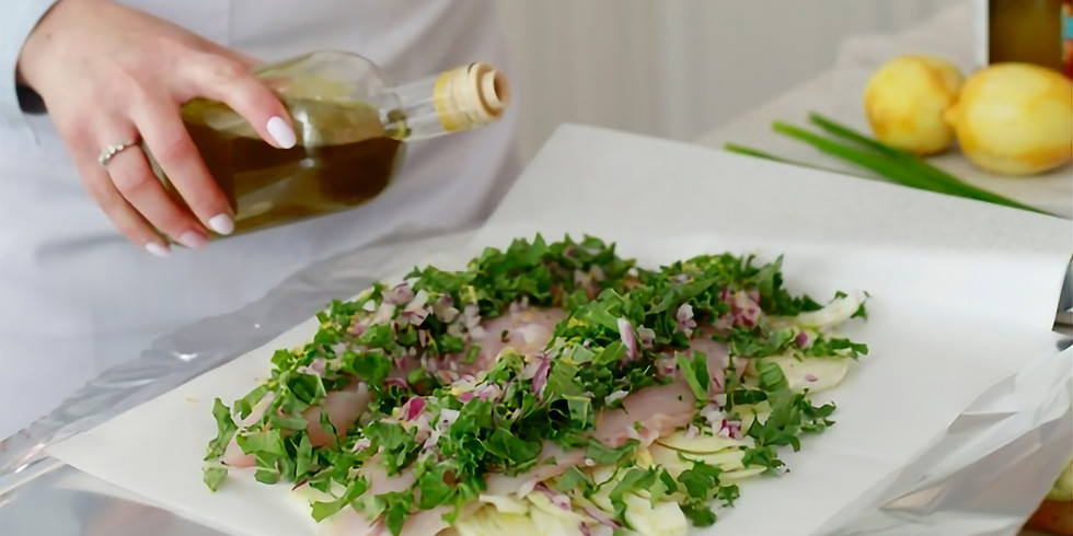 CLASS - Fish en Papillote with Wine & Herbs