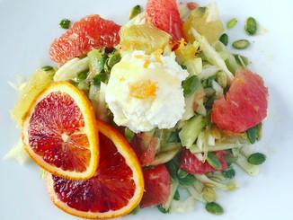 Three Citrus  Fennel Salad