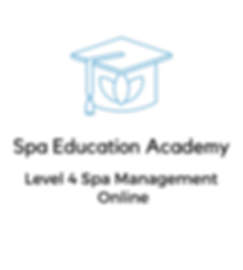 Spa Education Academy Logo with text and