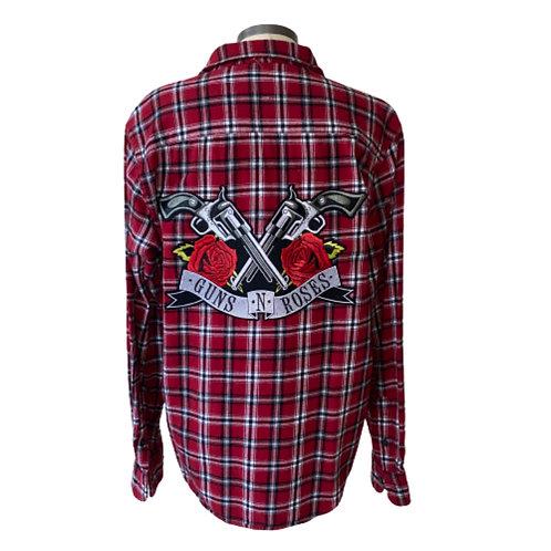 Guns N Roses Flannel - Medium