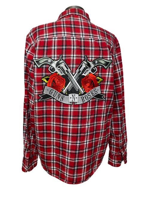 Guns 'N Roses Flannel MEDIUM