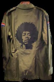 Jimi Hendrix Foreign Military Jacket