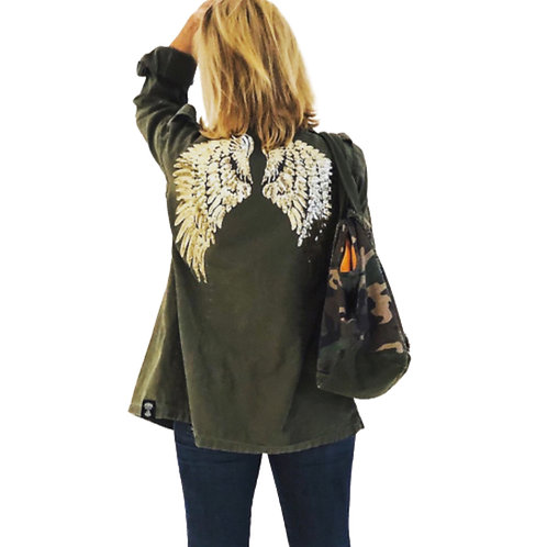 Angel Wings Foreign Military Jacket