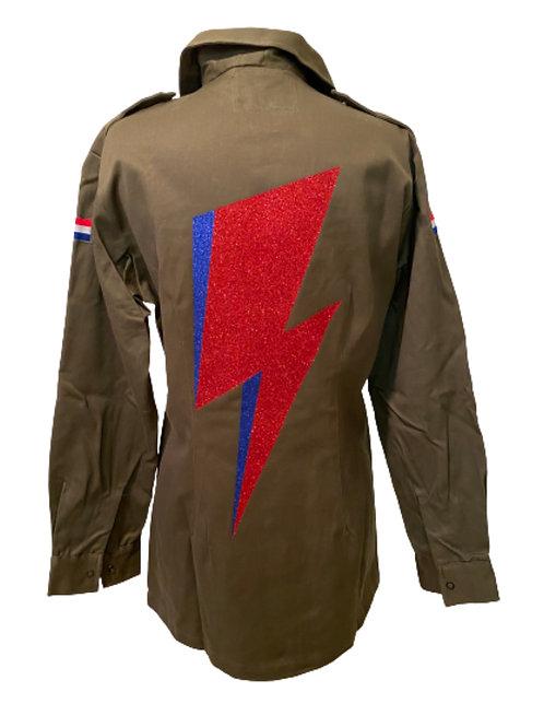 Rebel Rebel Bowie-inspired Stardust Army Jacket