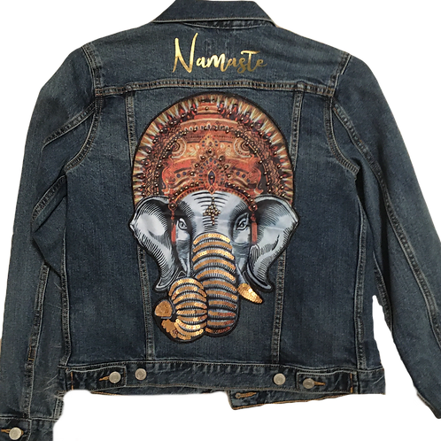 Ganesha Denim Jacket