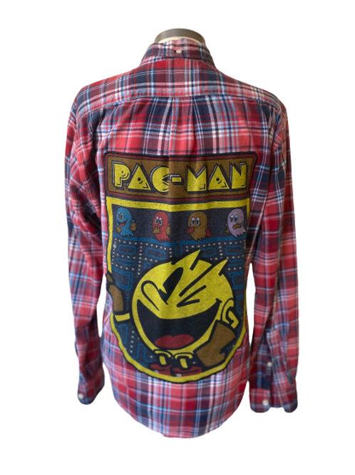 PacMan Flannel -Medium