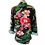 Thumbnail: Embroidered Elegance Army Camouflage Jacket
