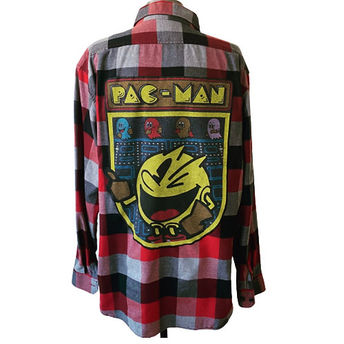 PacMan Flannel - Large