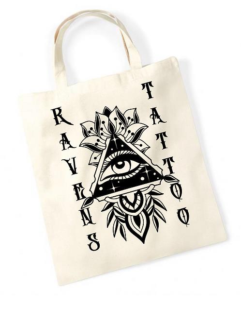 Ravens Tote Bag All Seeing Eye