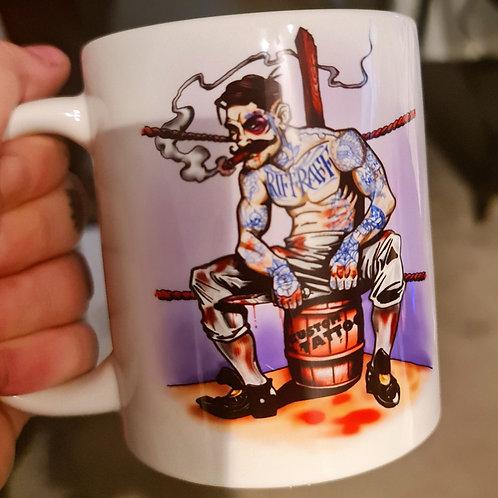 Riff Raff Ravens Mug 11 0z Dishwasher safe