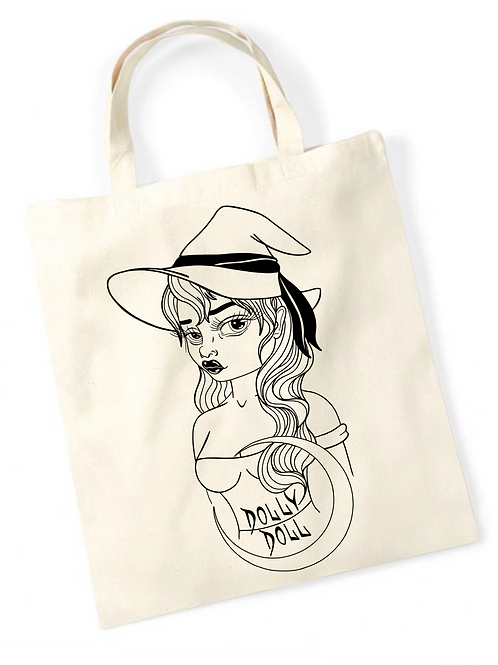 DollyDoll Tote Bag
