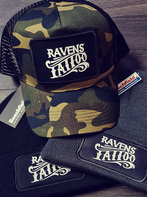 Ravens Headwear Beanie/Trucker Cap