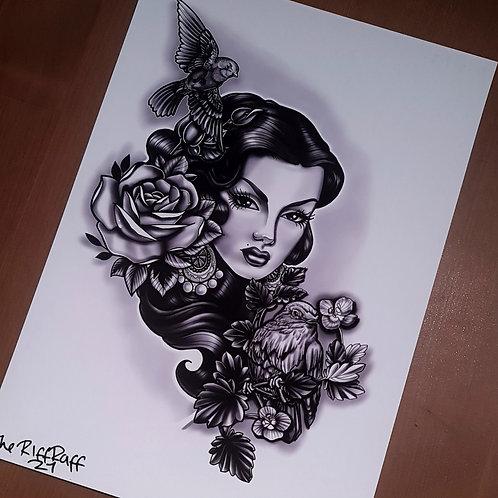 Grey Lady Neo Print - RiffRaff