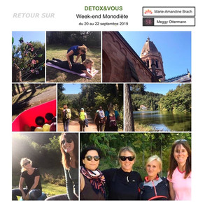 Week-end DETOX&VOUS Marie-Amandine Brach Naturopathe
