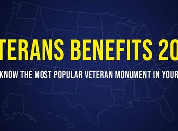 Veterans benefits 2020: Most popular state Veteran monument