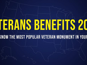 Veterans benefits 2020: Most popular state Veteran monument