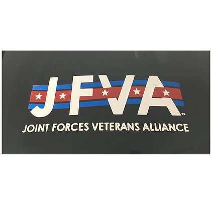 JFVA Window Vinyl Decal