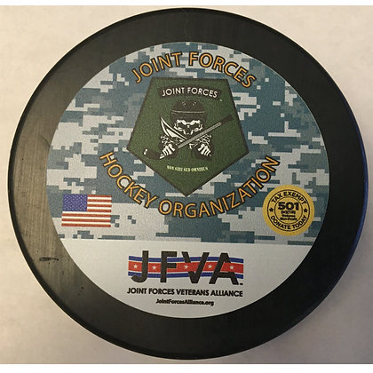 Joint Forces Hockey Puck - Limited Edition
