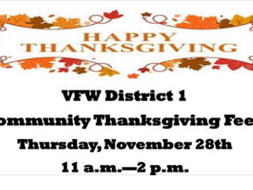VFW (District 1) Thanksgiving Feed -Denver