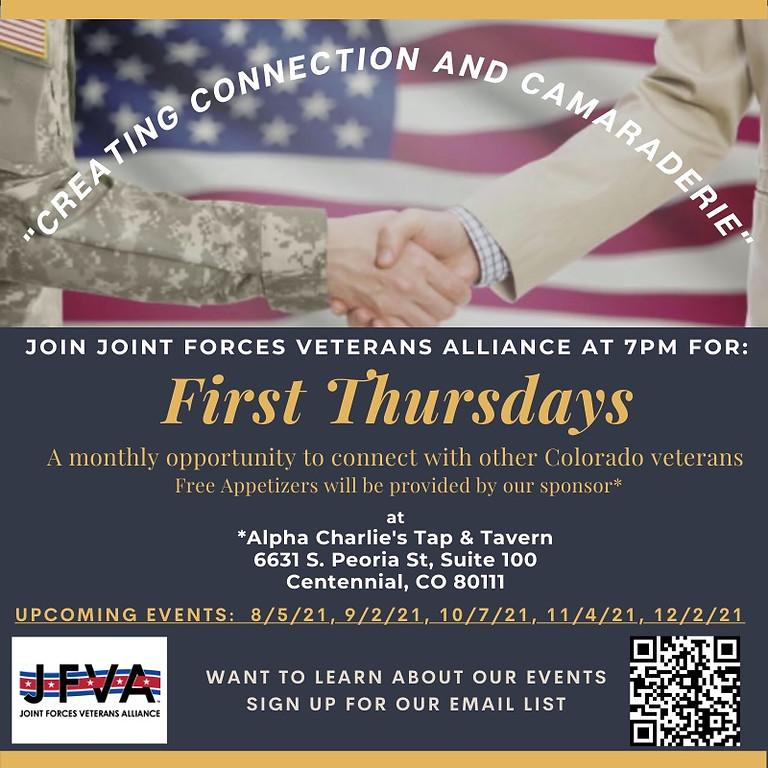JFVA: 1st Thursdays - October