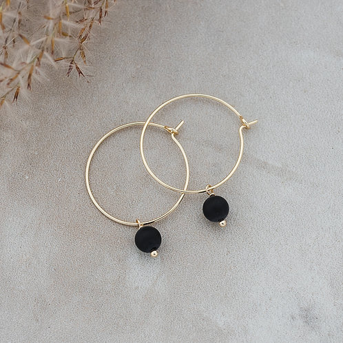Bellamy Hoops GOLD or SILVER