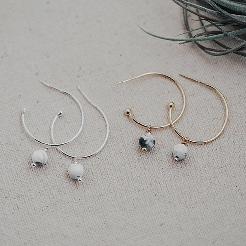 Passion Hoops- Silver