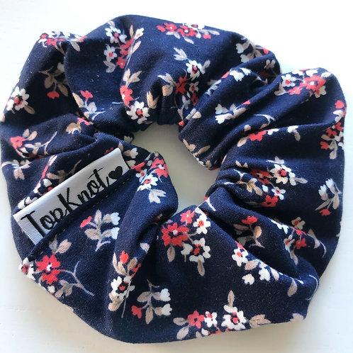 The Classic Floral Scrunchie