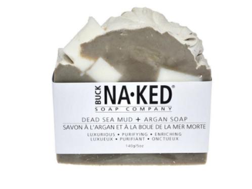 Dead Sea Mud + Argan Soap