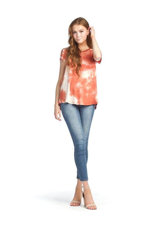 Ginger - Soft Tie Dye Stretch T-shirt