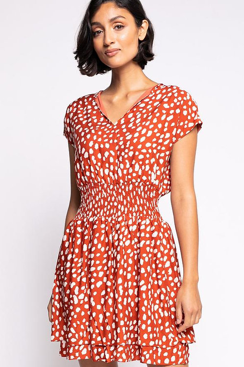 The Camille Dress- Red