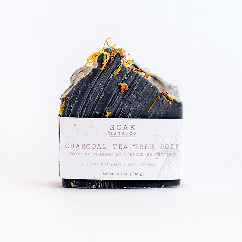 Charcoal Tea Tree Soap Bar
