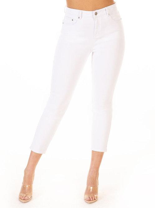 Pocket Skinny Jean White Wash
