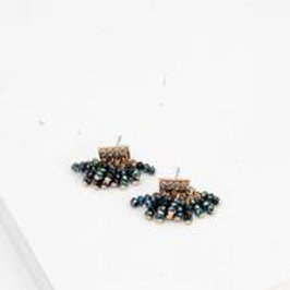Triumph Beaded Post Earrings