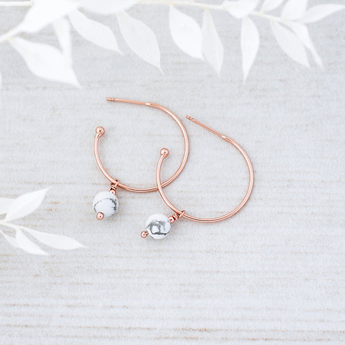 Passion Hoops- Rose Gold