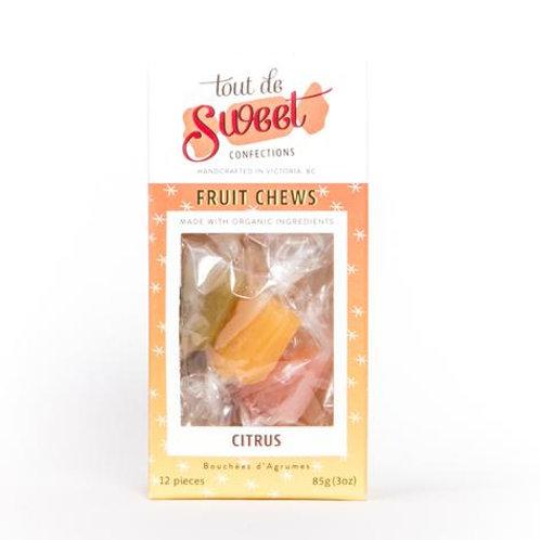 Organic Fruity Citrus Chews