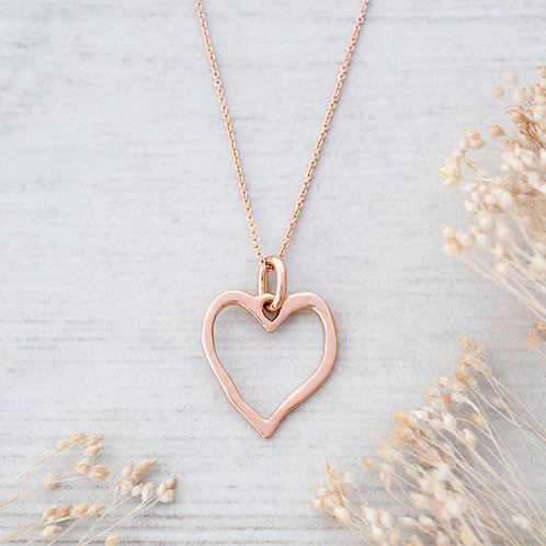Truly Necklace l Rose Gold