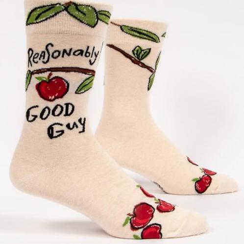 Reasonably Good Guy M-Crew Socks