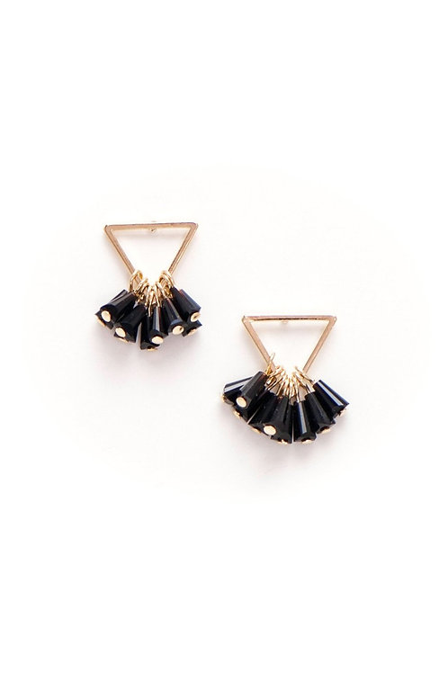 Confetti Triangle Earrings