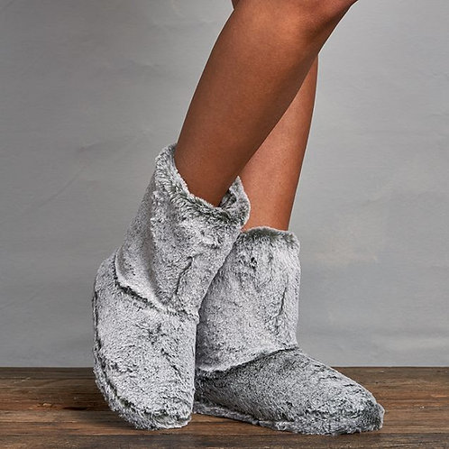 Faux Fur Boot - Clay