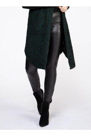 High Waisted Faux Leather Legging